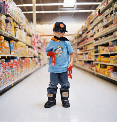 heather hussey boy grocery store costume